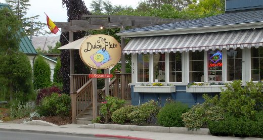 The Dulce Plate Restaurant in La Conner.