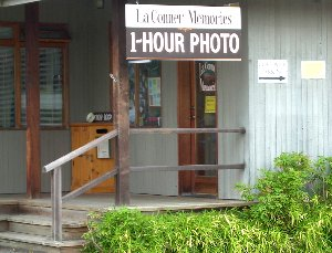 La Conner Memories and One Hour Photo.
