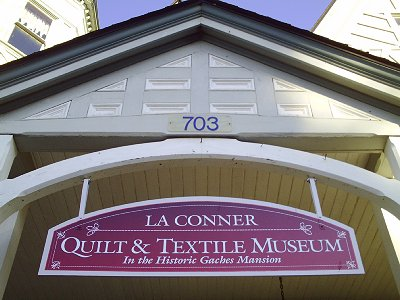 The La Conner Quilt & Textile Museum in La Conner, Washington - photo.