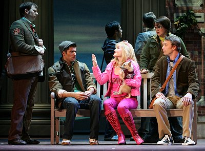 Legally Blonde the Musical at Seattle 5th Avenue Theatre - Photo: Joan Marcus.