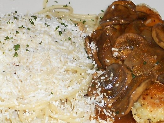 The Chicken Marsala at the Lynnwood Old Spaghetti Factory - image.