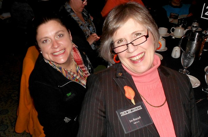 Kirsten Willis and Jan Brazzell at Lunch and Laughter for Community Health in Tacoma - image.