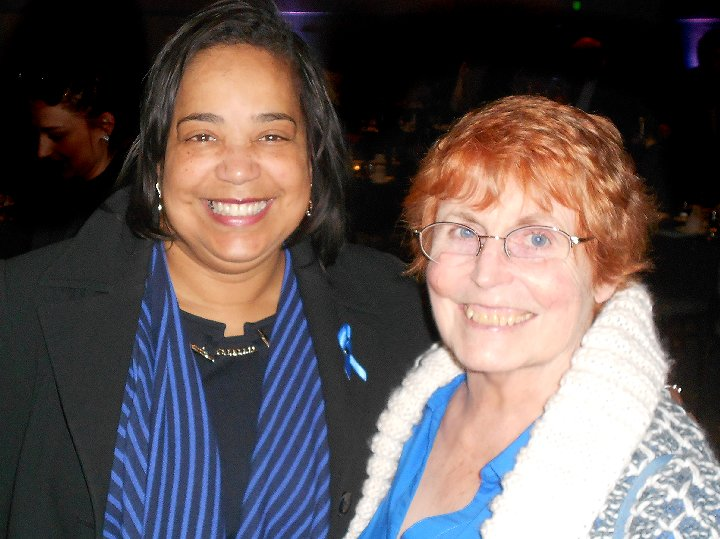 Victoria Woodards and Peg Doman at Lunch and Laughter for Community Health in Tacoma - image.