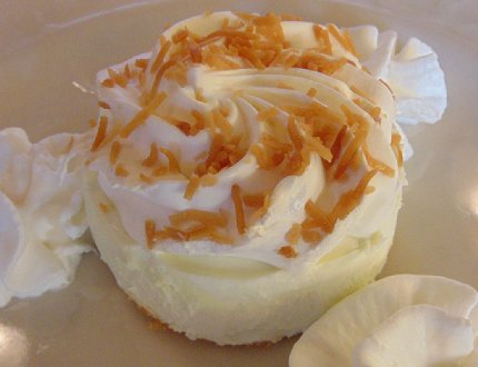 Key Lime Tartlet from The Chanterelle in Edmonds, Washington - image.