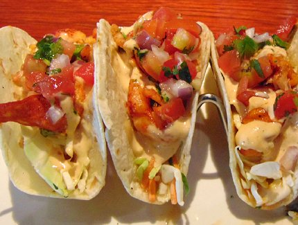 Lobster tacos at the Red Lobster in Lynnwood, Washington - image.