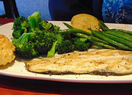 Trout from the Red Lobster in Lynnwood - image.
