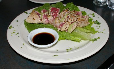 Seared Ahi Tuna at Cafe Divino in Tacoma - photo.