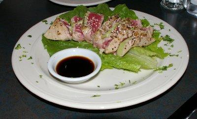Seared Ahi Tuna at Cafe Divino in Tacoma - photo.