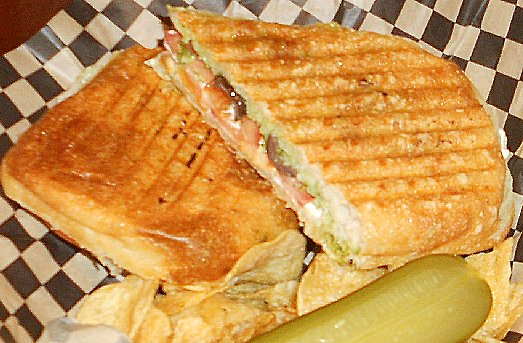 Grilled goat cheese sandwich at Montamara  in Tacoma - image.