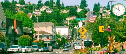 Old Town District in Tacoma - image.