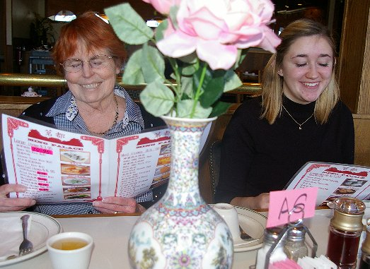Peg and Daron at the Ming Palace Dim Sum Restaurant in Tacoma - image.