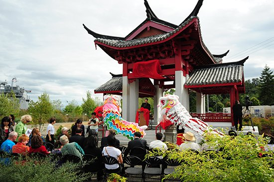 Tacoma Chinese Reconciliation Park in Tacoma - image.