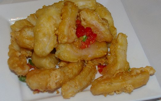 Deep fried squid at the Ming Place Dim Sum Restaurant in Tacoma - image.