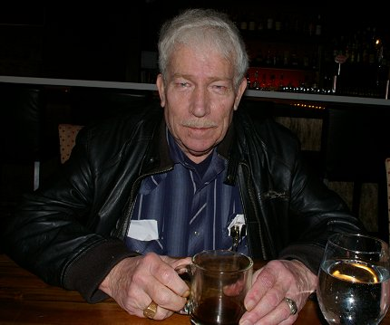 Al Burrage at the Manhattan Steakhouse in Seattle  - image.