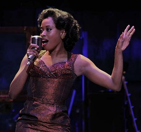 Felicia Boswell as Felicia in the National Touring Cast of MEMPHIS - Photo: Paul Kolnik.