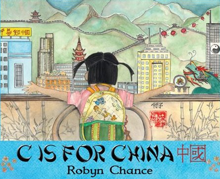 C is for China by Robyn Chance.