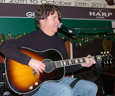 Cronin Tierney performing in Ocean Shores, Washington.