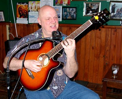 Dan Hausler performing at Galway Bay Irish Restaurant Pub and Gift Shop in Ocean Shores.