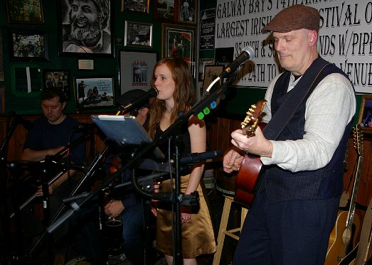 Bellow Bridge performing at the Galway Bay in Ocean Shores - image.