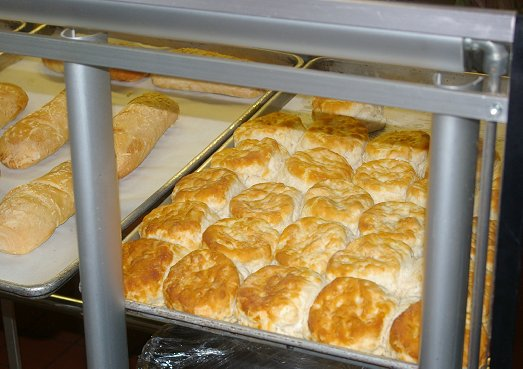 The biscuit case at Our Place Cafe in Ocean Shores - image.