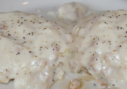 Biscuits and gravy at Our Place Cafe in Ocean Shores - image.