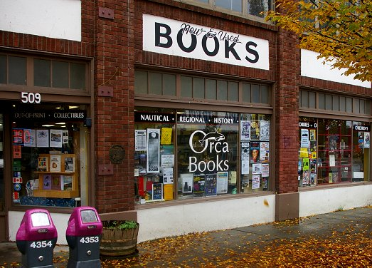 Orca Books in Olympia - image.