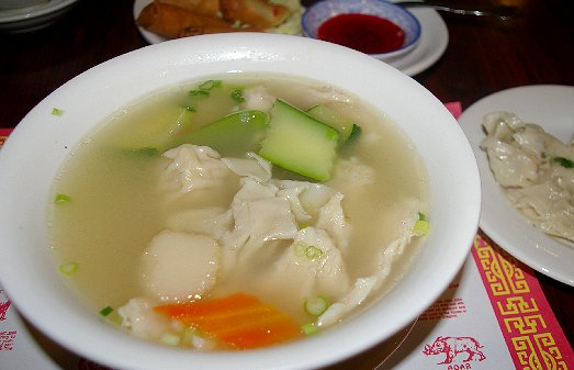 Won ton soup from Viet Hoa in Ocean Shores - image.