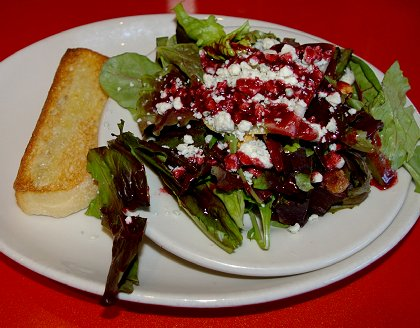 An excellent salad at i.talia in Olympia, Washington - image.