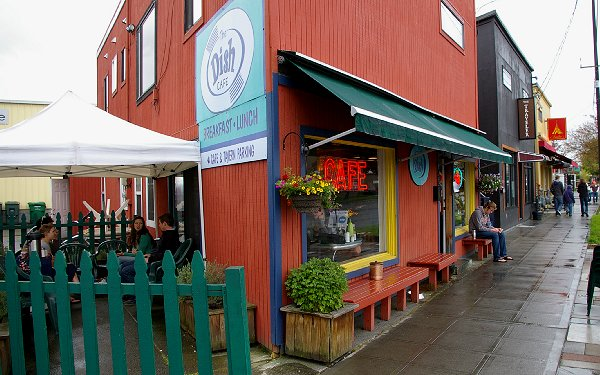 The Dish is a great cafe between Fremont and Ballard.