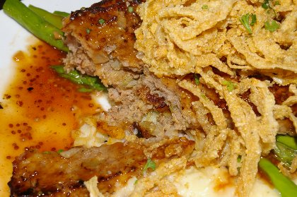 Bourban meatloaf at the Bremerton Bar and Grill - image.