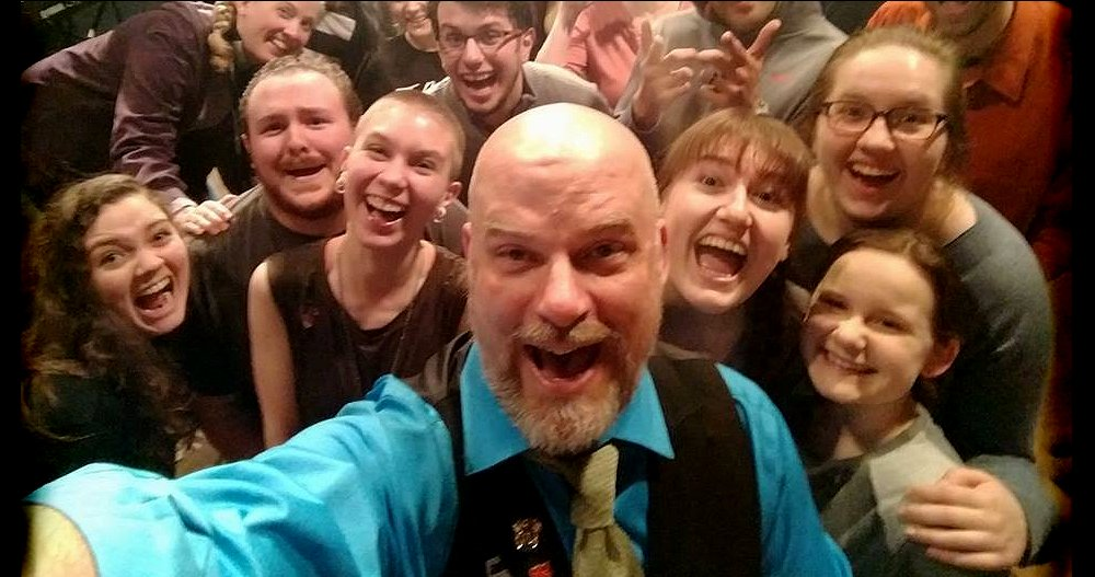 Selfie by John Munn and the cast of The Pirates of Penzance at Lakewood Playhouse - image.