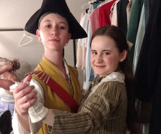 Karly Dammel (left) and Natalie Hodges (right) from The Pirates of Penzance at Lakewood Playhouse - image.