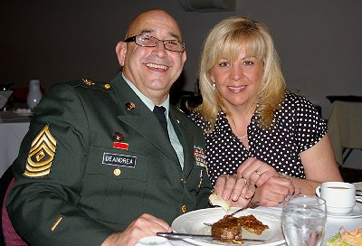 Mark and Annie Deandrea at Rotary in Tacoma, Washington - Photo.