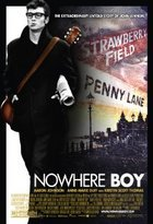 A poster of Nowhere Boy playing at the Grand Cinema in Tacoma, Washington - Photo.