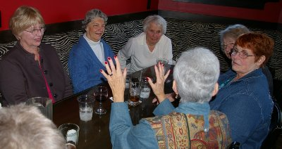 P.E.O. luncheon at the Parkway Tavern Tacoma, Washington - Photo.