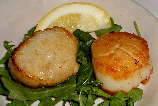 Scallops at Pacific Grill in downtown Tacoma - image.