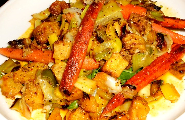 Veggie Hash at Pacific Grill in downtown Tacoma - image.