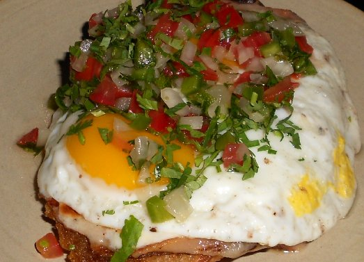 Ham and egg Mollete at Poquito's Restaurant Seattle - image.