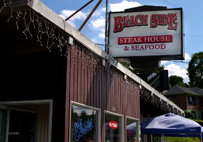 The Beach Side Steak House in Port Orchard, Washington.