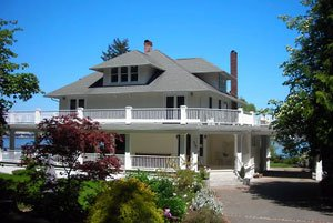 The Cedar Cove Inn in Port Orchard, Washington.