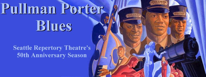 Pullman Porter Blues at Seattle Repertory Theatre. Photo by Chris Bennion.