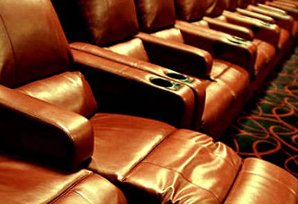 comfy theater seats.