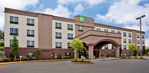 The Holiday Inn Express on Puyallup's South Hill in Puyallup, Washington.
