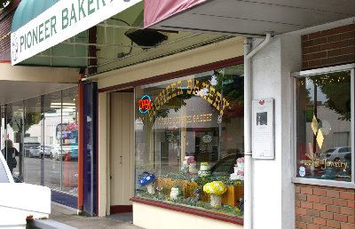 The Pioneer Bakery in Puyallup, Washington.