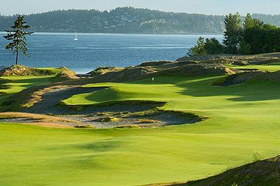 Chambers Bay Golf Course in University Place, Washington.