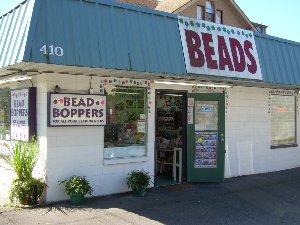 Bead buying in  downtown Puyallup.