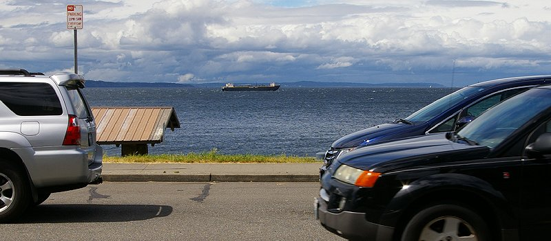 The view from Pegasus at Alki Restaurant West Seattle - image.