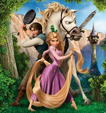 Walt Disney Film's Tangled review.