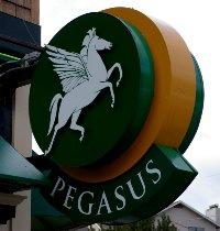 Pegasus Pizza on Alki Beach in West Seattle.