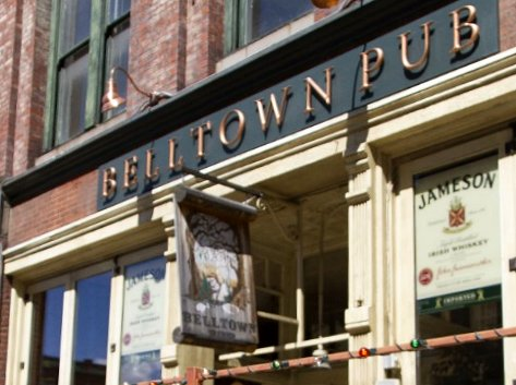Belltown Pub restaurant review Seattle - image.